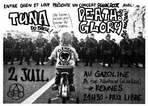 Affiche Tuna Rennes